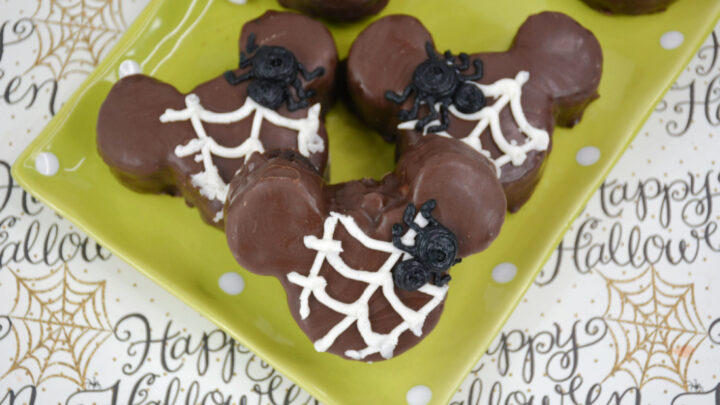 Mickey Spider Brownies Recipe